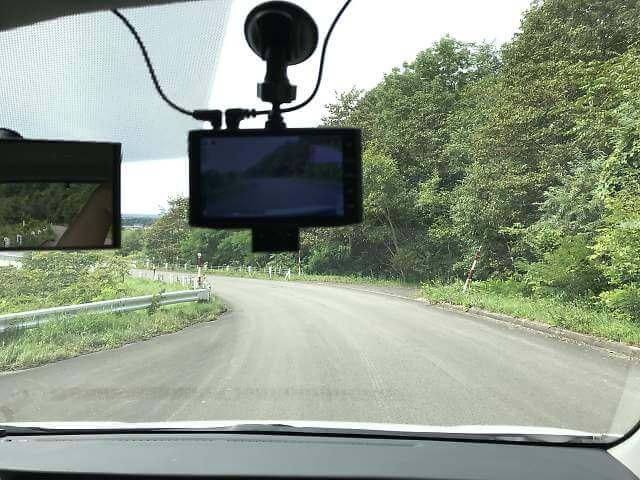 前方カメラ設置位置