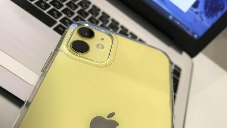iPhone11の復元中