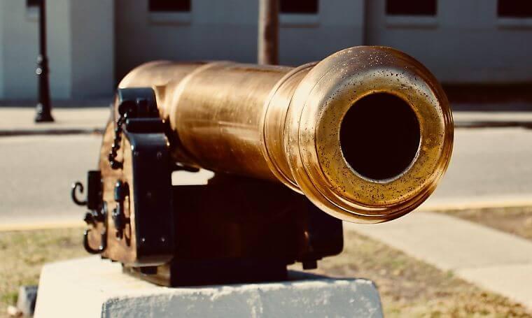 クロネ砲のイメージ
