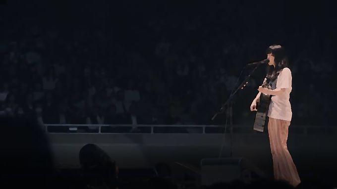 あいみょんの武道館ライブイメージ