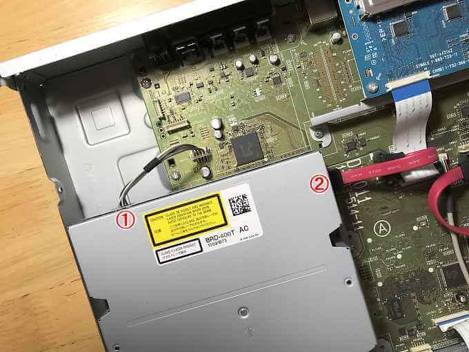 BRD-400Tケーブル位置