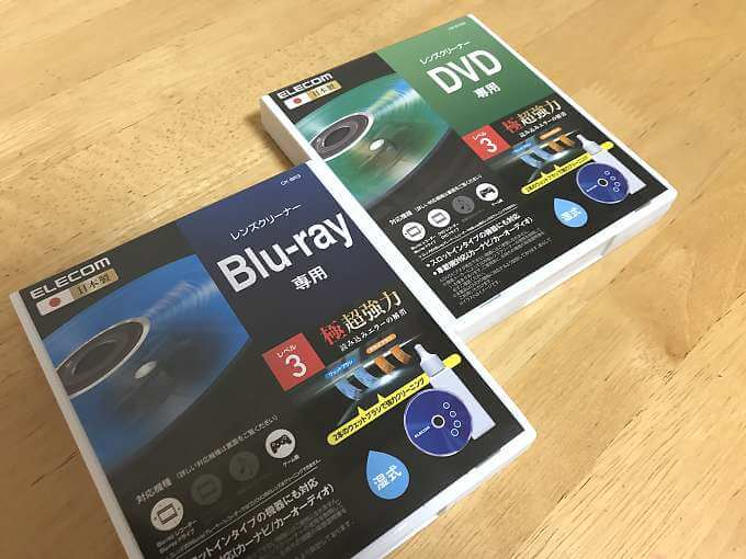 ELECOM Blu-ray DVD クリーナー