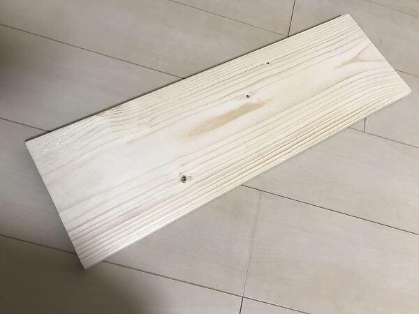 キーボードスライダー用の板材