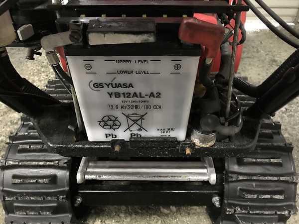 HS970の搭載バッテリー