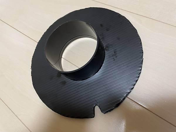換気扇接続フランジ作成5