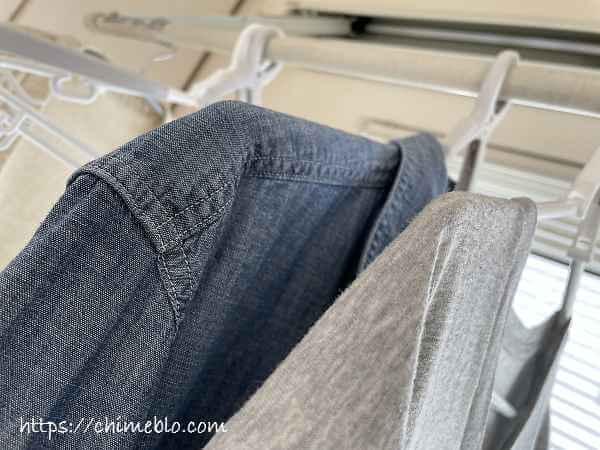 室内に干した洗濯物の臭い残りイメージ