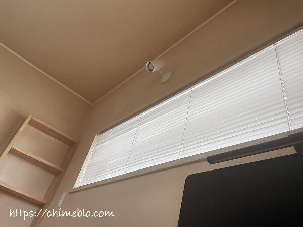 エアコン設置前の室内