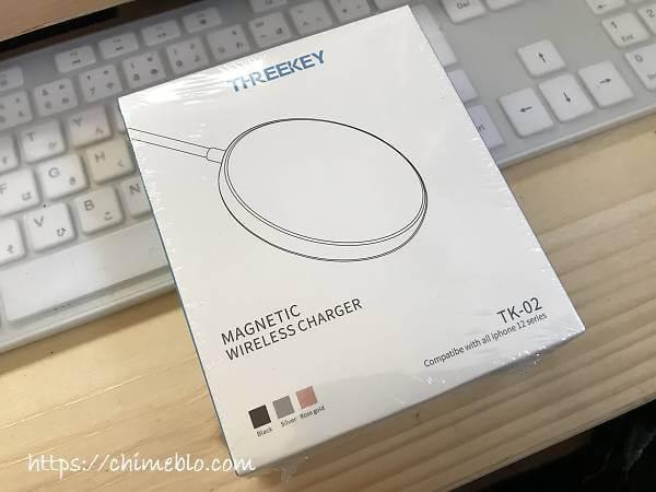THREEKEY mag-safe充電器外箱
