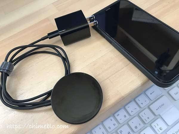 THREEKEY マグセーフ充電器とiPhone12